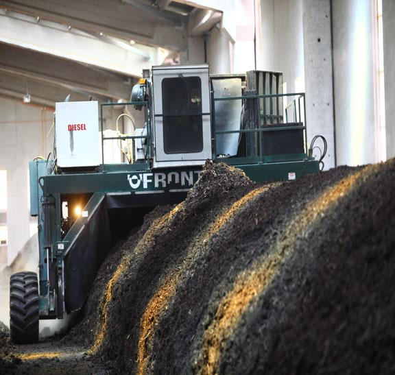 Bioestabilizado de cerdos para mejorar la producción agrícola
