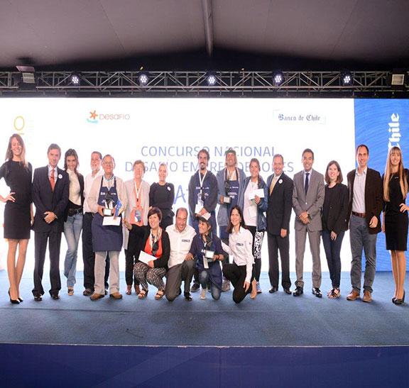 Premio Desafío Emprendedor y créditos solidarios