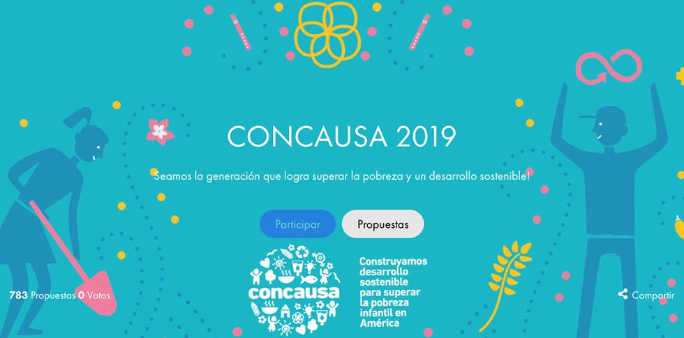 Iniciativa Concausa 2019, beca a jóvenes del continente americano, líderes de proyectos sociales y medioambientales